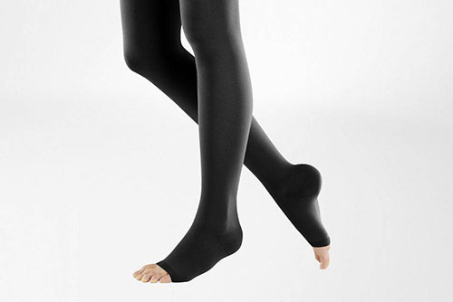varicose vein thigh high compression stockings